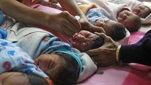 La Policía india desmantela una red que vendía bebés por 1.300 euros
