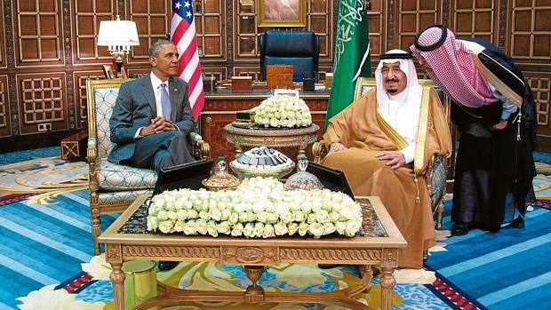 Obama pide a Riad más apoyo en la guerra contra Daesh