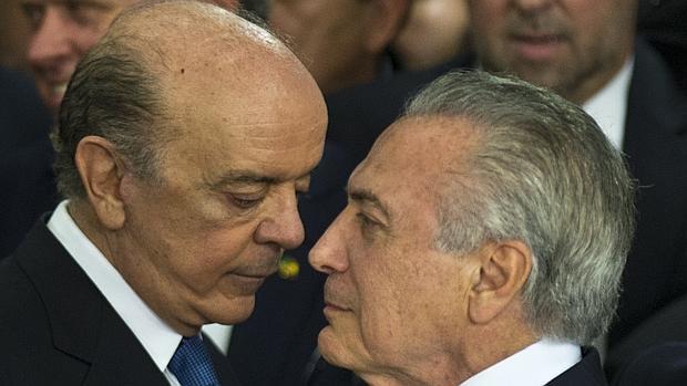 La cancillería brasileña repudia las críticas bolivarianas al nuevo Gobierno de Temer