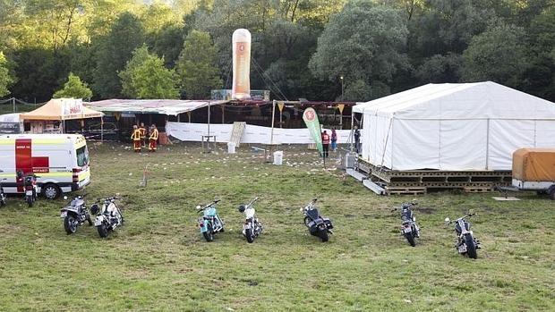 Tres muertos y 11 heridos durante un tiroteo en un concierto en Austria