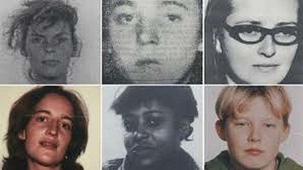 A Manfred Seel se le ha relacionado con la muerte de estas cinco mujeres y el niño de 13 años Tristan Brübach