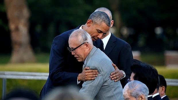 Obama pide un mundo sin armas nucleares durante su histórica visita a Hiroshima
