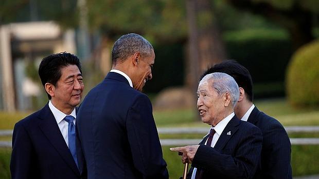 El maletín nuclear de Obama también fue a Hiroshima