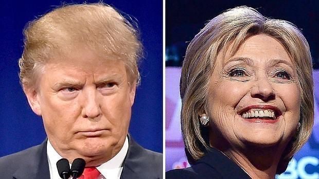 Las ajustadas elecciones de EE.UU.: Clinton, cuatro puntos por delante de Trump en un nuevo sondeo