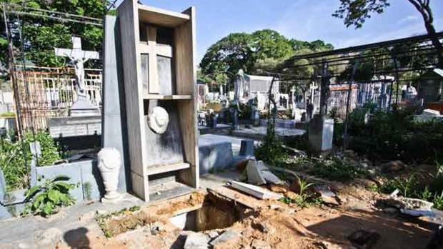 La tumba del expresidente Rómulo Gallegos
