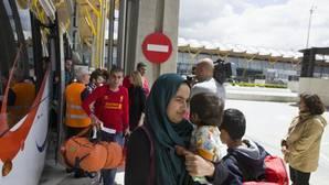 España recibirá a 418 refugiados en las próximas semanas