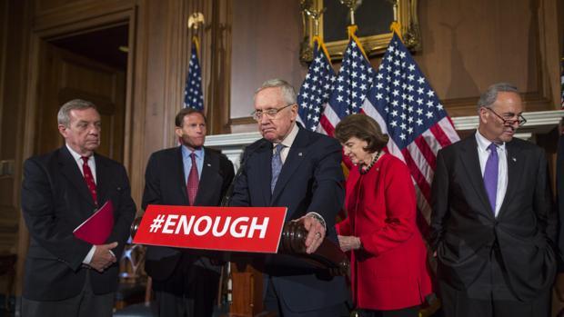 El Senado rechaza cuatro medidas para aumentar el control de las armas