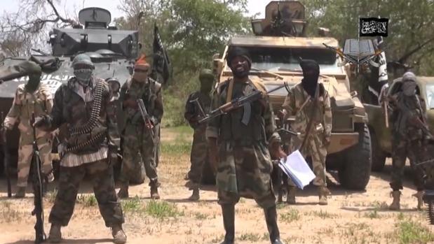 Un grupo de militantes de la organización terrorista Boko Haram