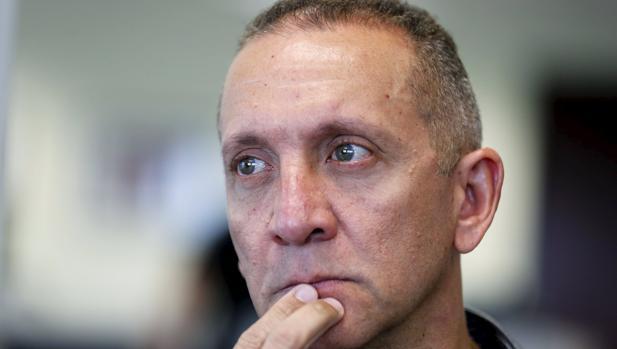 Franklin Nieves durante una entrevista en Miami, tras su huida para pedir refugio político