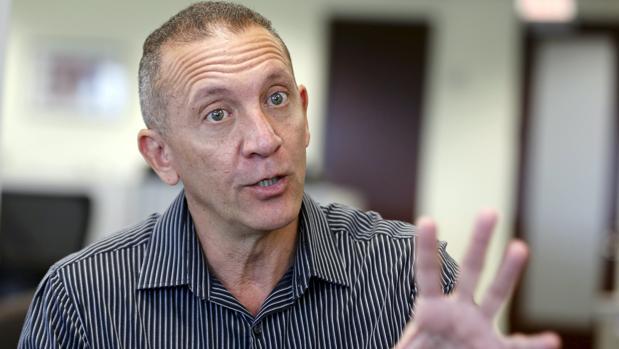 El fiscal venezolano Franklin Nieves, en Miami, tras su huida el pasado octubre