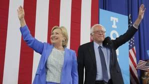 Sanders respalda a Clinton como candidata demócrata a la Casa Blanca