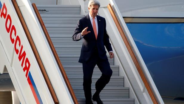 Kerry llega a Moscú para proponer cooperación en Siria y el final del conflicto en Ucrania