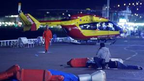 Las dramáticas imágenes del ataque en Niza