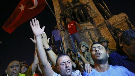 Así está ahora mismo la plaza Taksim