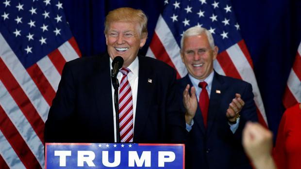 Trump coge una amplia ventaja sobre Clinton para ser presidente tras la Convención Republicana