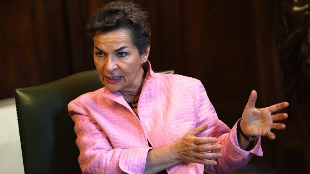 Christiana Figueres: «Hay que explicar a la sociedad que cambio climático y crisis de refugiados están ligados»
