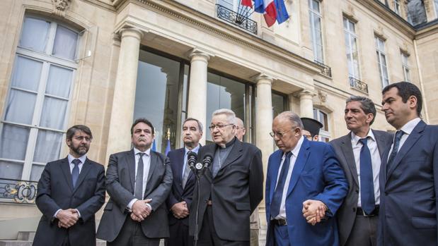 Los principales líderes religiosos franceses temen nuevas agresiones