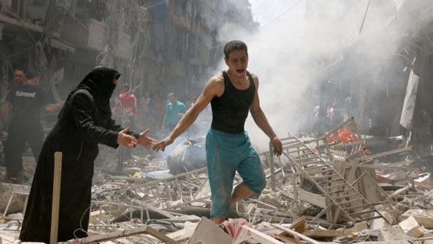 Ataque en Alepo el pasado mayo