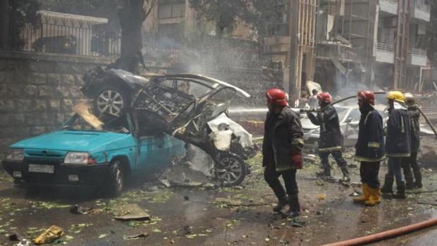 Imagen del pasado mayo de Alepo tras un atentado