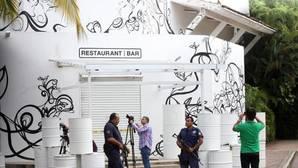 Imagen del restaurante en Jalisco (México), donde tuvo lugar el secuestro