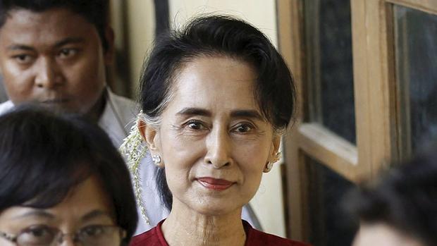 Foto de archivo de Suu Kyi