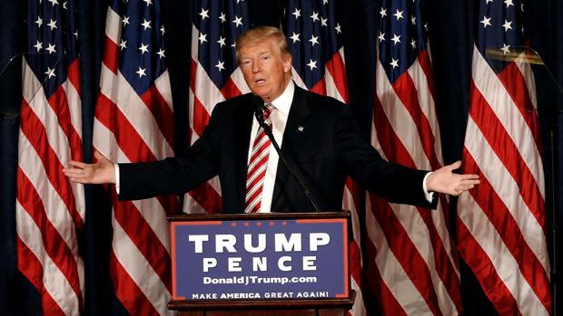 Trump plantea más gasto militar en busca del voto conservador