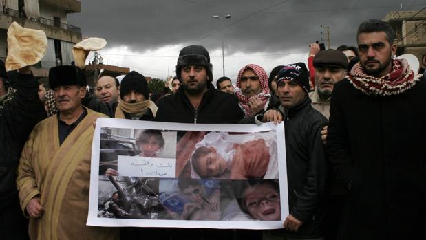 Aumentan los intentos de suicidio de menores en la ciudad siria de Madaya