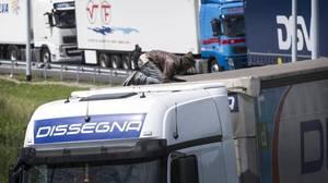 Un niño afgano de 14 años muere en Calais al intentar colarse en un camión con destino Reino Unido