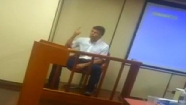 El opositor Leopoldo López en la Corte de Apelaciones el pasado agosto