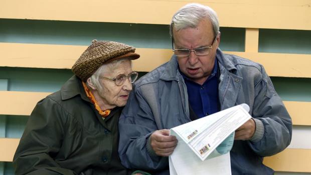 Imagen de la votación de este domingo en Rusia