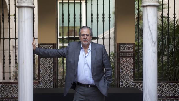 Miguel Henrique Otero, durante la entrevista en ABC