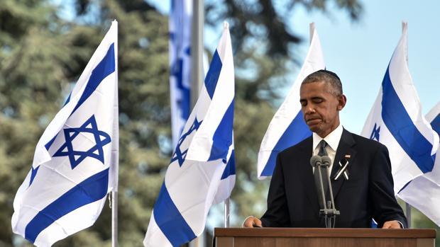 Obama exhorta a Israel a retomar el camino de la paz en el funeral de Simón Peres