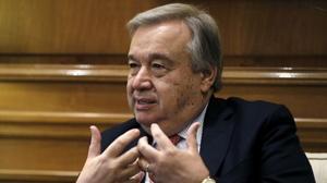 António Guterres, «feliz» y «honrado» de convertirse en el próximo secretario general de la ONU