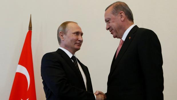 Putin se volverá a reunir con Erdogan el 10 de octubre en Turquía
