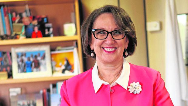 Rebeca Grynspan en su despacho en Madrid
