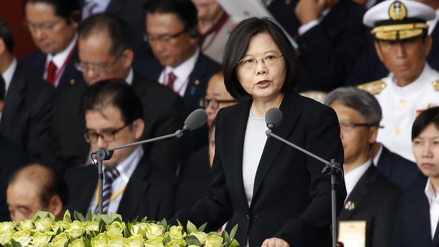 La presidenta de Taiwán insta a China a recuperar el diálogo «lo antes posible»