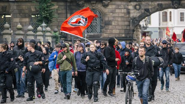 El movimiento xenófobo alemán Pegida cumple dos años