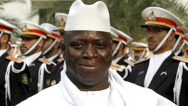 El presidente de Gambia, Yahya Jammeh