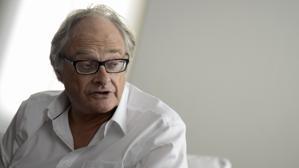 El periodista Patrick Cockburn, durante la entrevista en la Casa Árabe, en Madrid