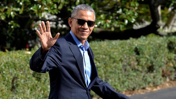 El todavía presidente de Estados Unidos, Barack Obama, saludaba el pasado domingo en la Casa Blanca antes de viajar a Orlando, Florida, para apoyar la campaña electoral de Hillary Clinton