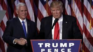 Trump, tranquilizador en sus primeras frases tras ganar las elecciones de EE.UU.