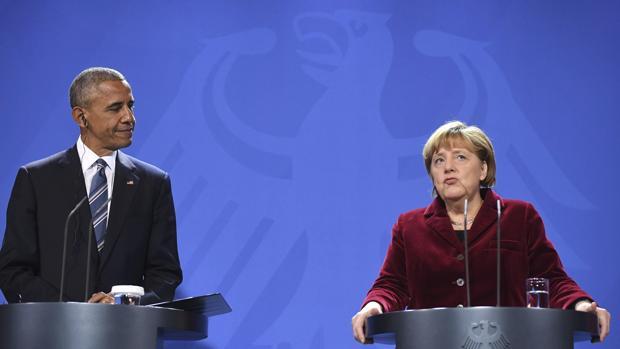 Hemeroteca: Barack Obama, en Berlín: «Si yo fuera alemán votaría a Merkel» | Autor del artículo: Finanzas.com