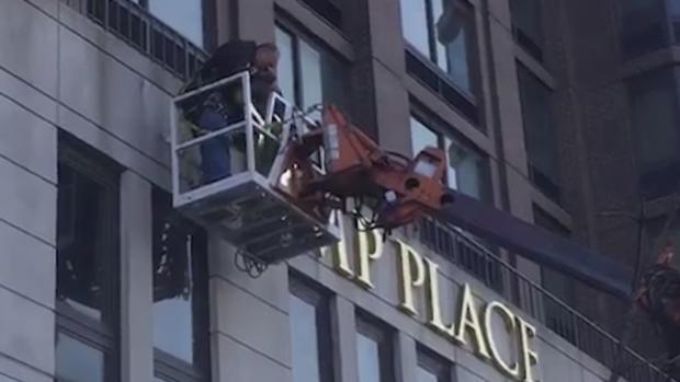 Tres edificios de Nueva York retiran el nombre de Trump de sus fachadas por la «verguenza» de sus vecinos