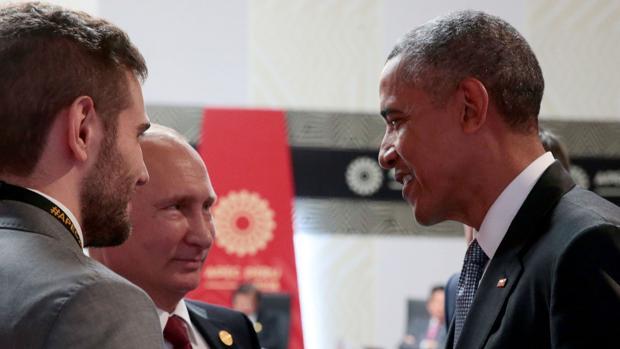 Putin y Obama, durantre su encuentro en la cumbre que se celebra en Perú