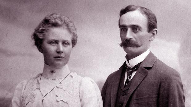 Frederick Trump y su mujer, Elisabeth