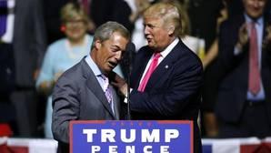 Trump apuesta por Farage como embajador del Reino Unido en Washington