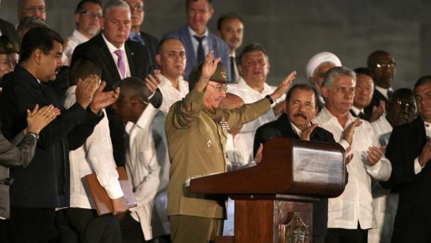 La plaza de la Revolución acoge el acto de despedida al exdictador cubano