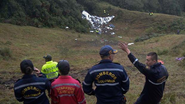 Confirman que el avión donde viajaba el Chapecoense no tenía combustible cuando se estrelló