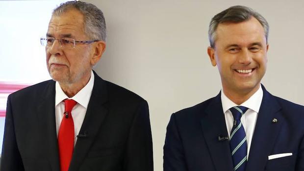 Intercambio de insultos en el debate presidencial austriaco
