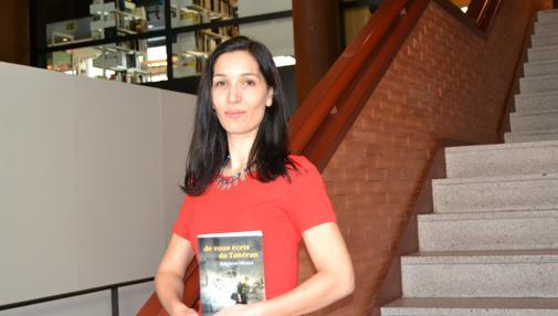 Delphine Minoui, en el Instituto Francés de Madrid